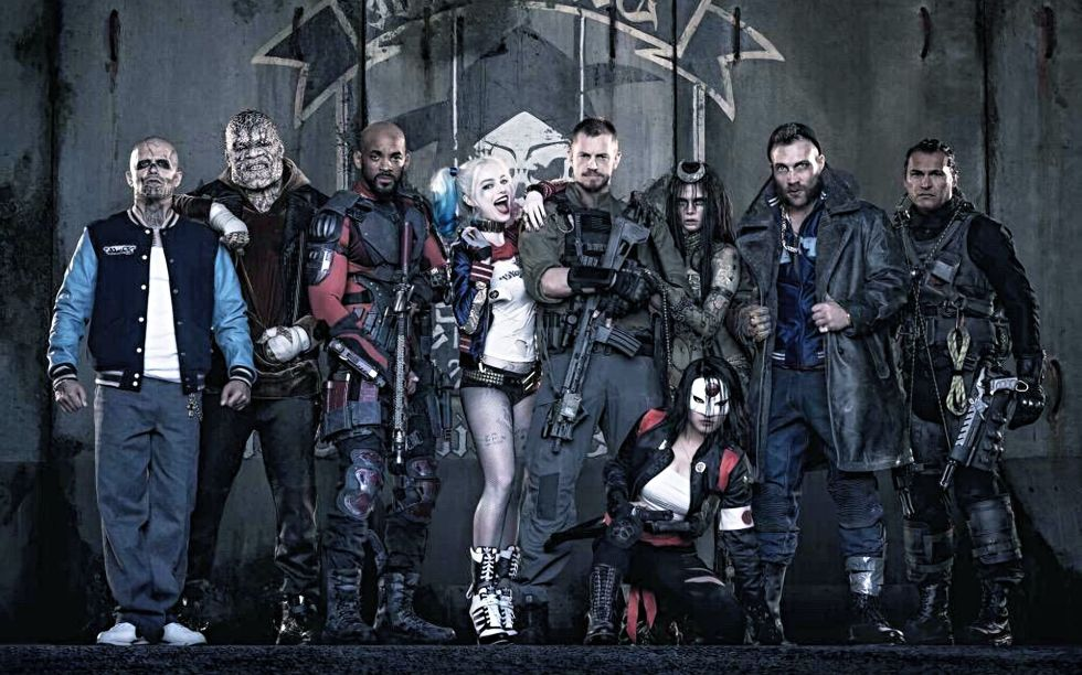 Calendar Shows Off New Images of 'Suicide Squad'