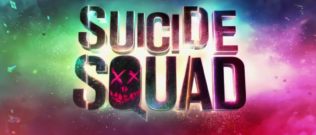 Suicide Squad logo colorful