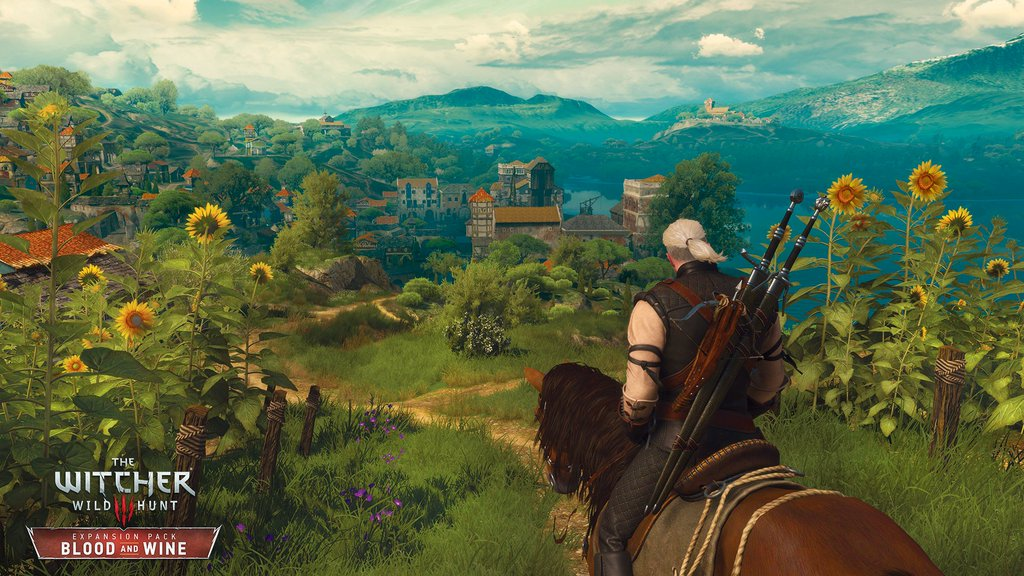 TW3-Blood-and-Wine Geralt in Toussaint