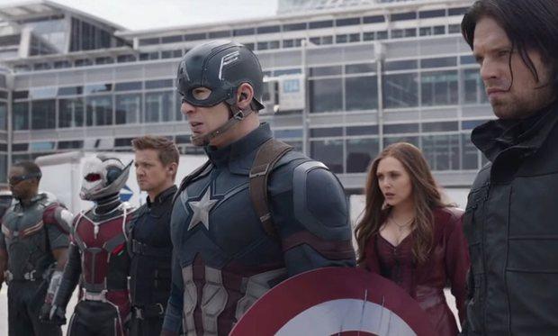 Avengers in Civil War