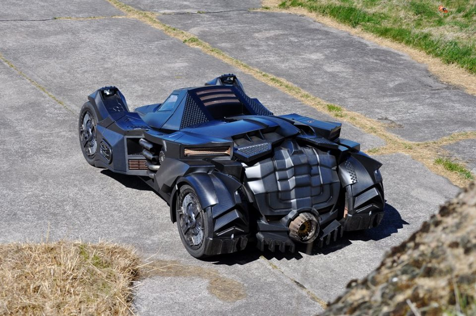Team-Galag-Batmobile-Back