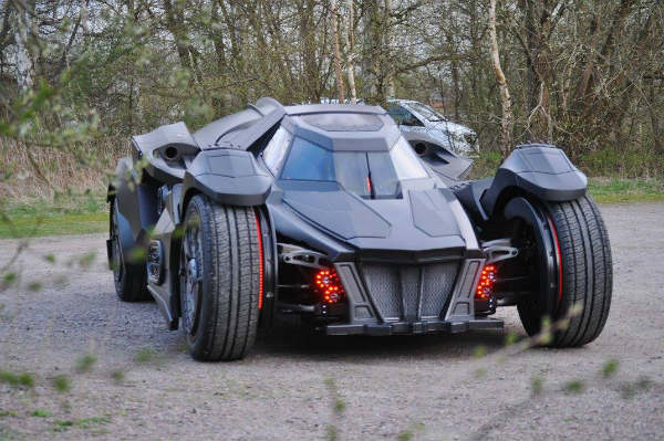 Team-Galag-Batmobile Front