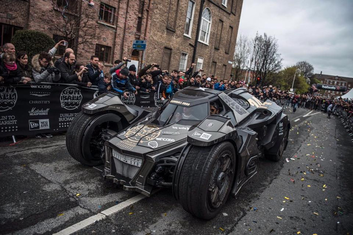 Team Galag Batmobile