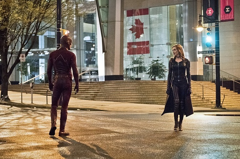 The Flash and Black Siren