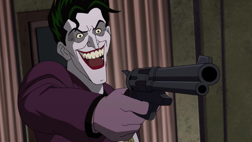 Animated the Killing Joke Joker
