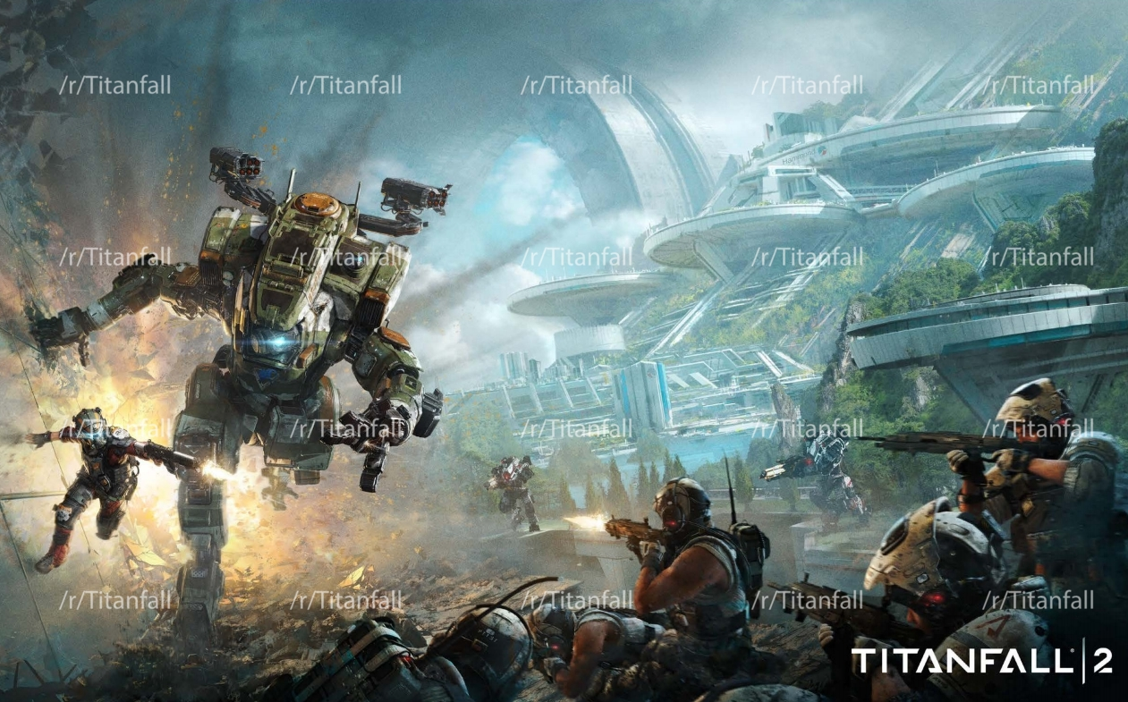 Titanfall 2 leaked poster, alleged box art