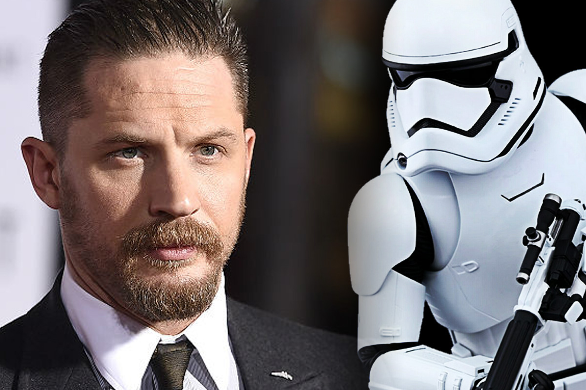 Tom Hardy Stormtrooper