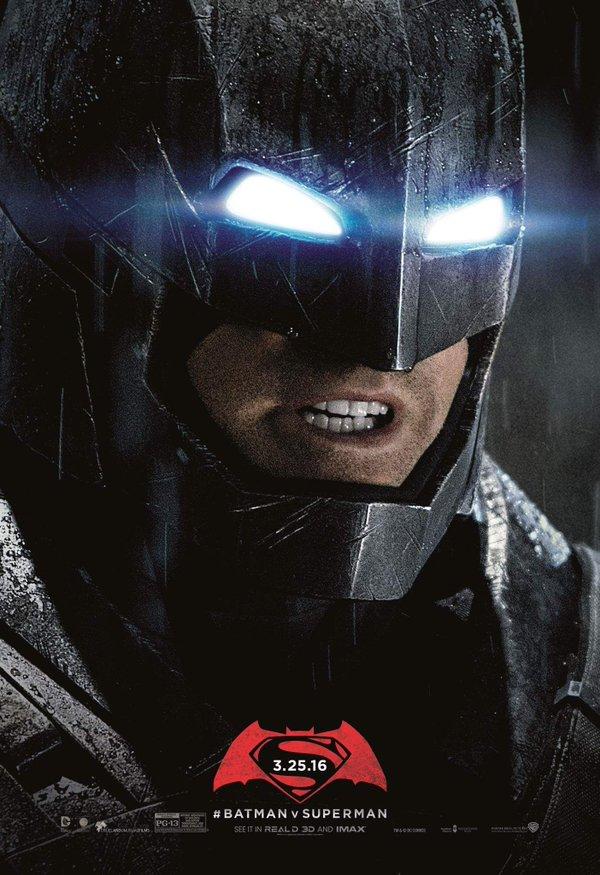Batman v Superman Unused Batman poster