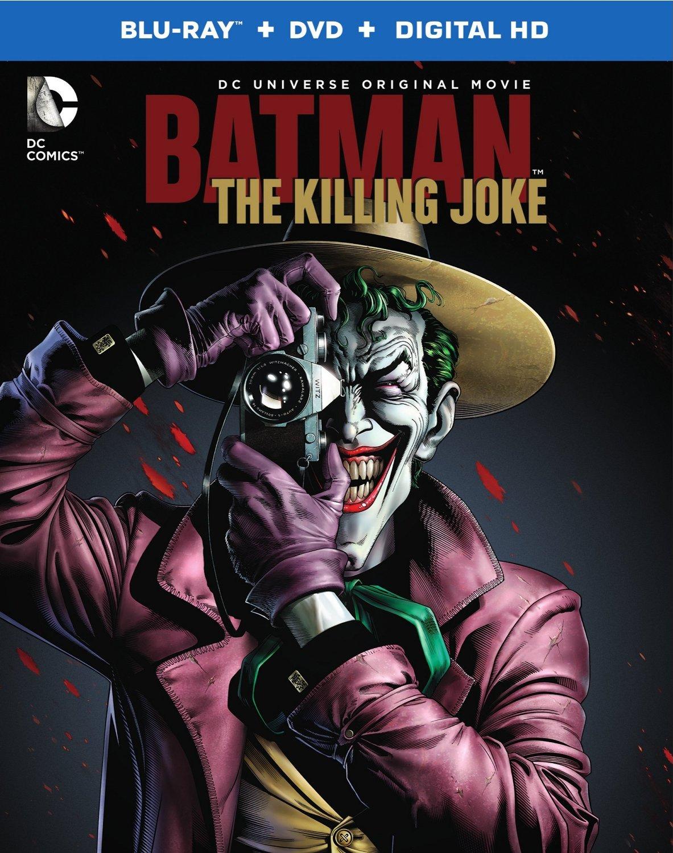 Blu-ray batman The Killing Joke box art