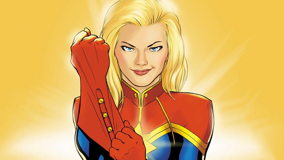 Captain Marvel artwork