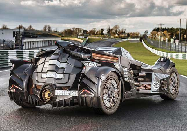 See Real-Life 'Arkham Knight' Batmobile in Action
