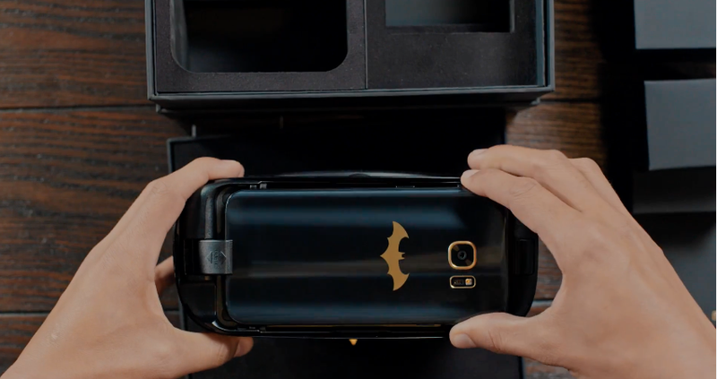 Samsung's Batman-Inspired Galaxy S7 Edge Revealed