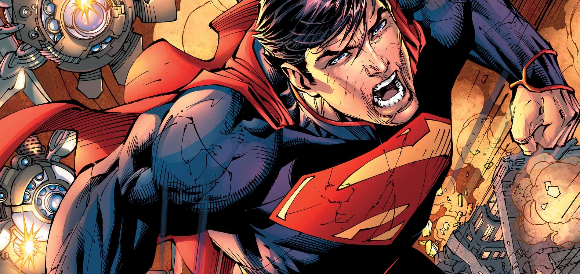 Superman DC Comics artwork