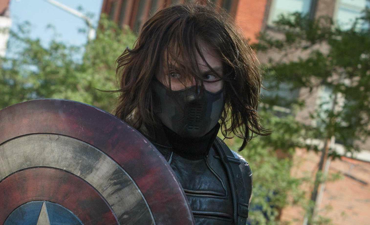 Sebastian Stan Winter Soldier shield