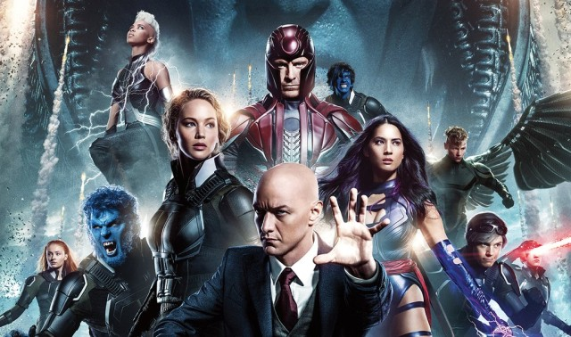x-men apocalypse cast poster