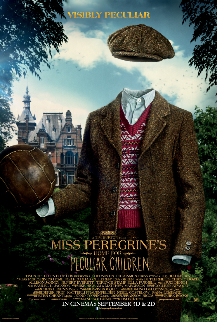 New Character Posters for Miss Peregrine's Home For Peculiar Children