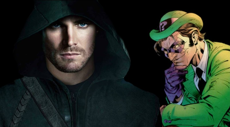 Stephen Amell Wants to Play The Riddler in a DC Movie