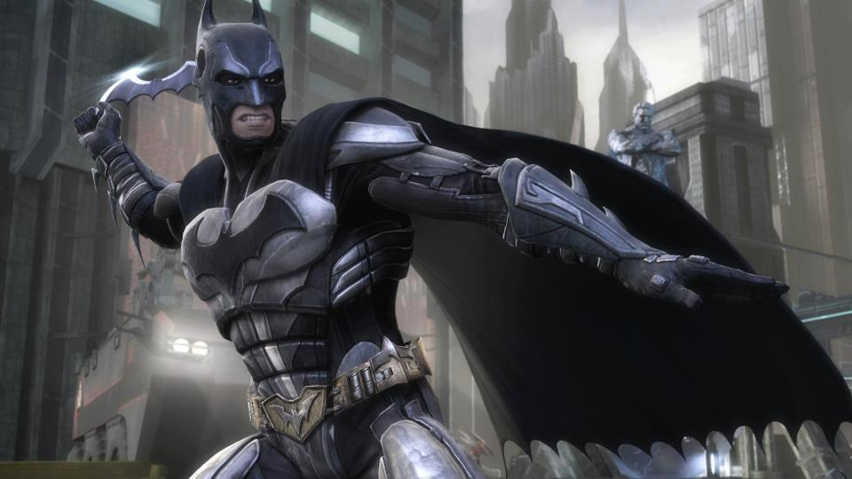 Batman in Injustice Gods Among Us