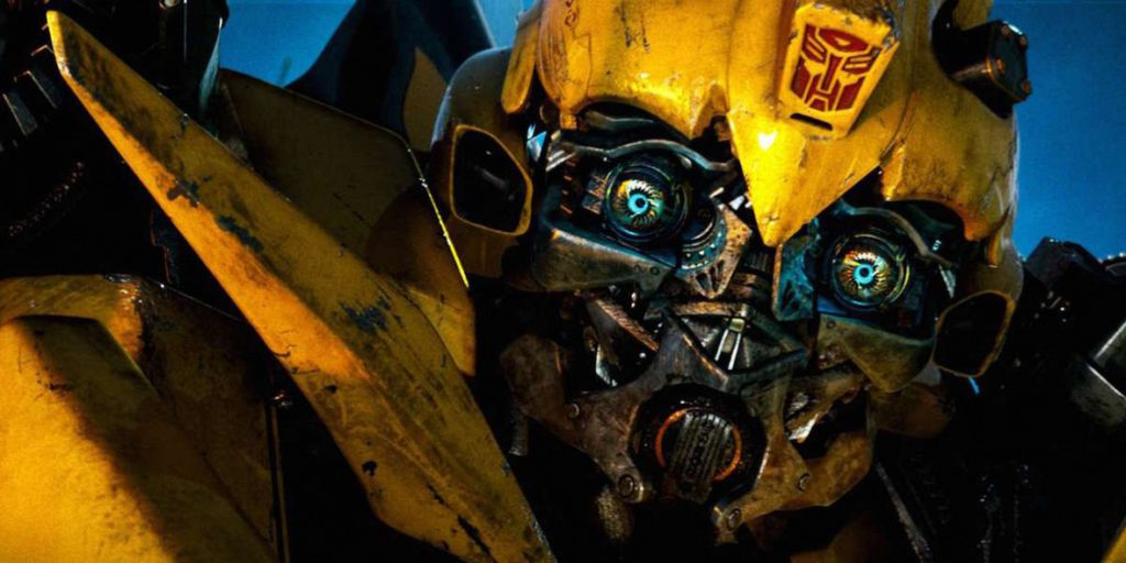 Bumblebee close up Transformers movie