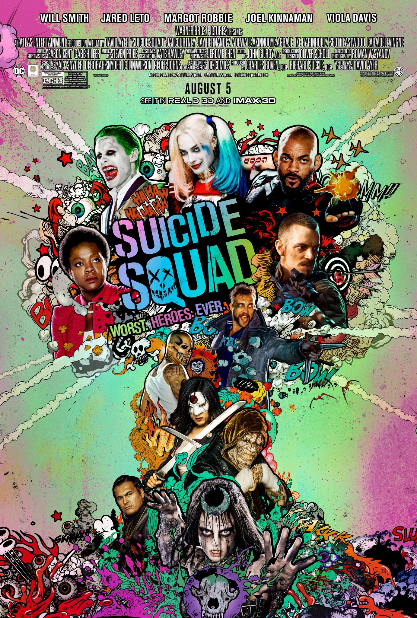 Brand New 'Suicide Squad' Poster