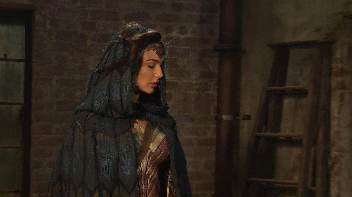 Cloaked Wonder Woman still