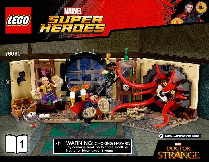 Doctor Strange Lego set Marvel Super Heroes