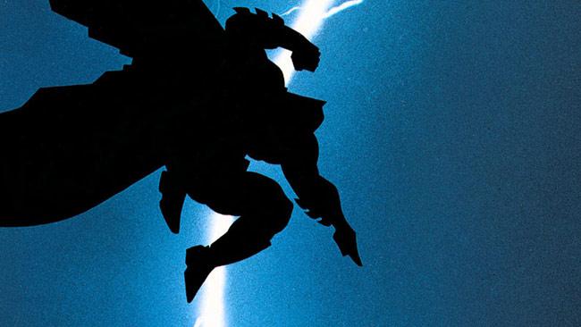 Frank Miller's The Dark Knight Returns Batman lightning