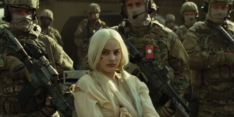 harley quinn in suicide squad vexing