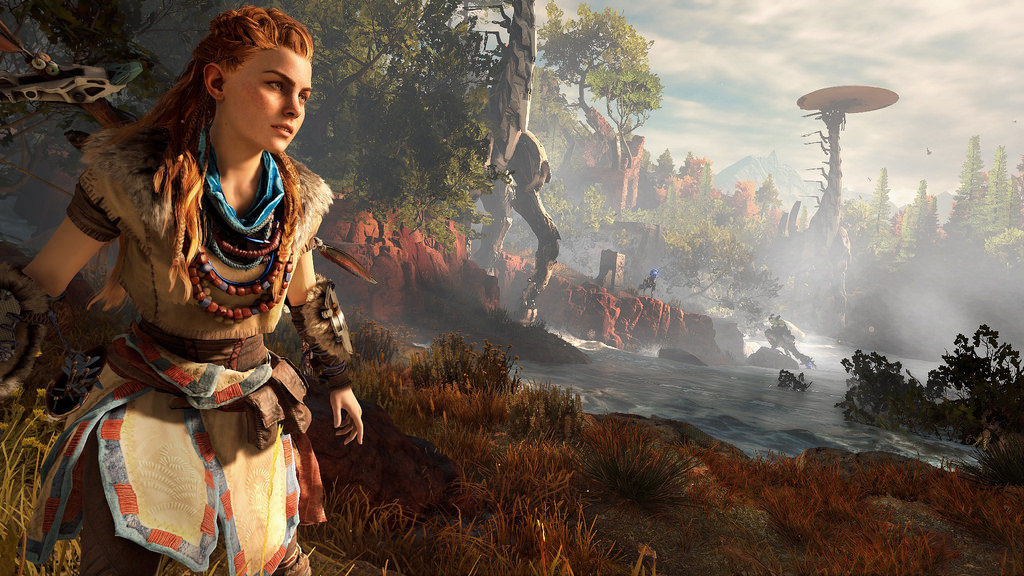 'Horizon Zero Dawn' Stuns in E3 Gameplay Demo