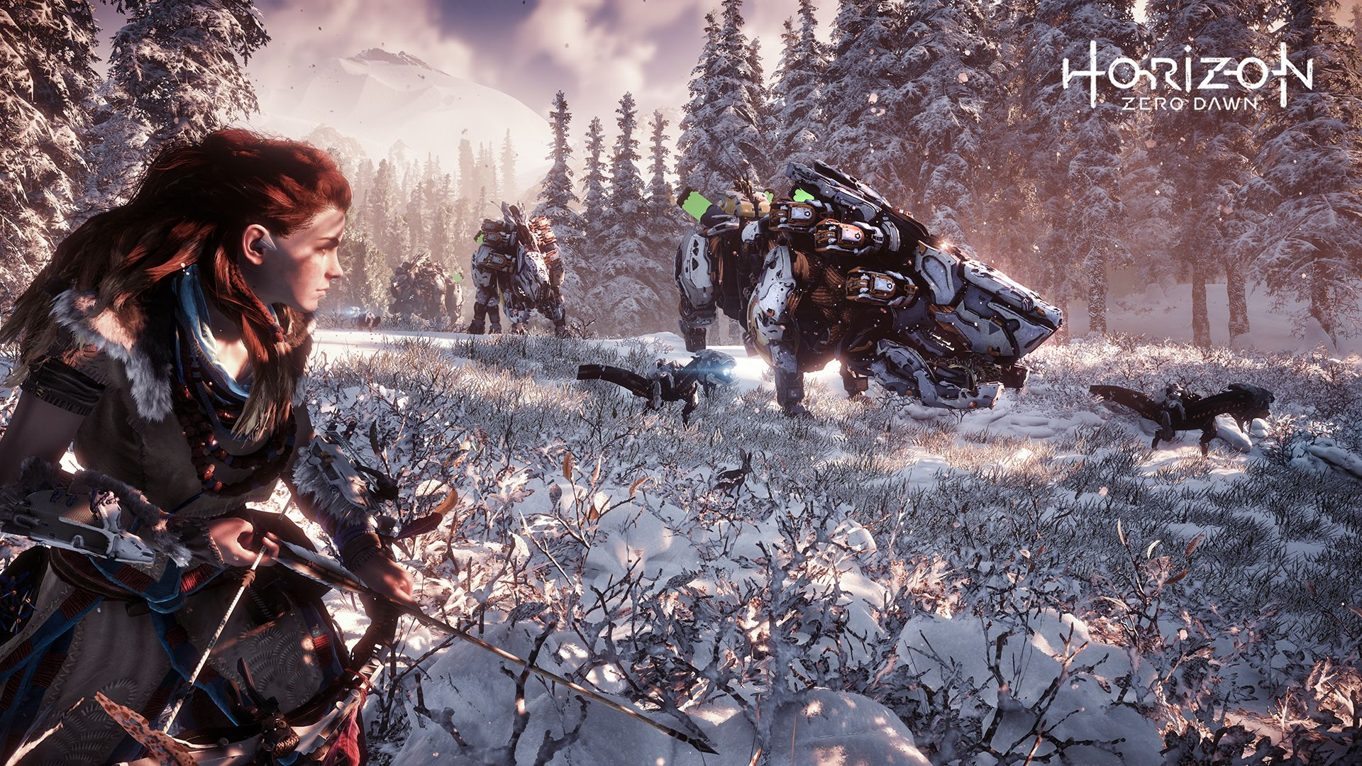 Horizon zero dawn aloy snow stealth