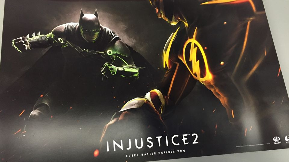 Injustice 2 Leaked Poster Batman and Flash