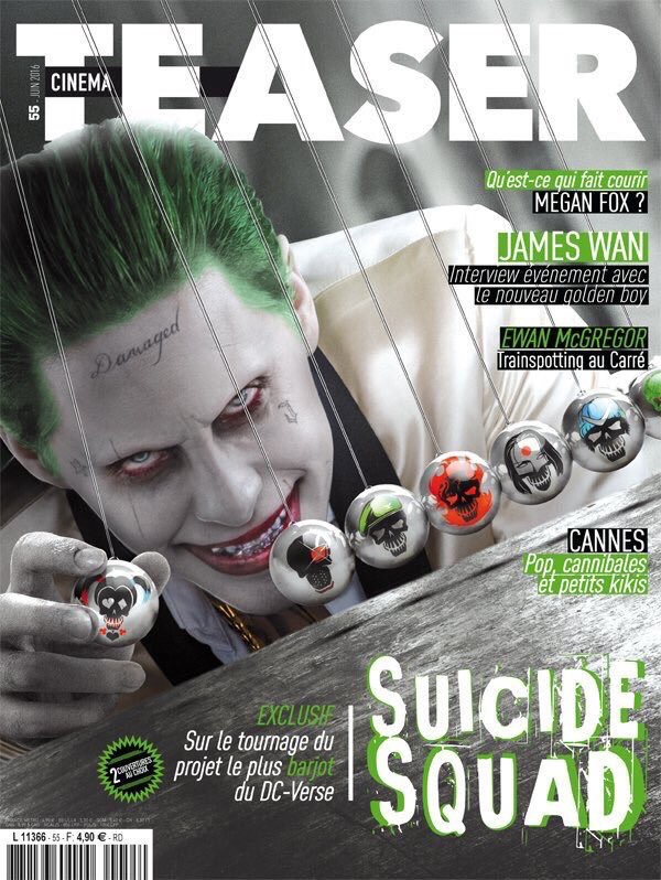 Cinema Teaser Joker Magazine Cover
