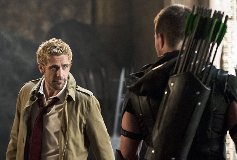 Matt Ryan as John Constantine on Arrow