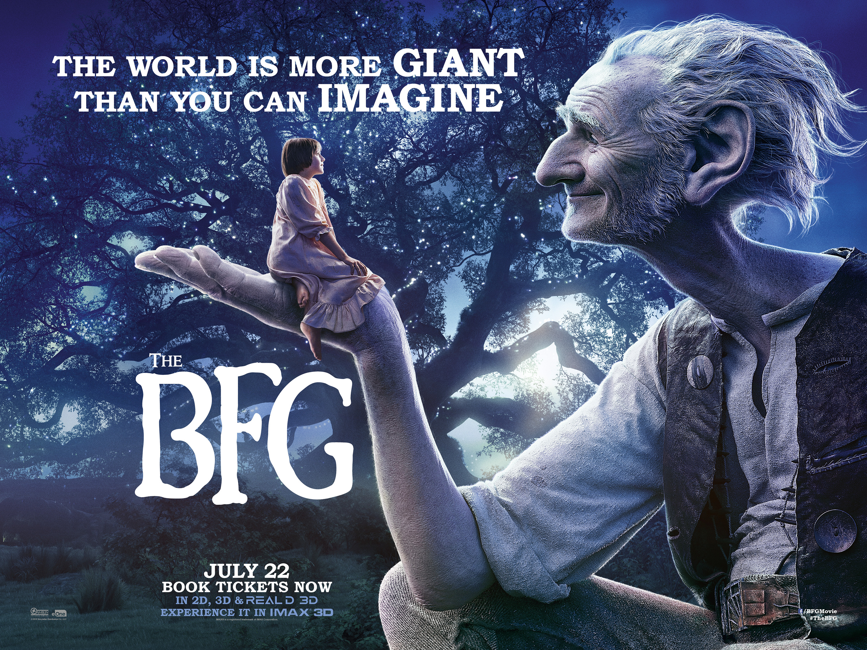 New Posters for 'The BFG'