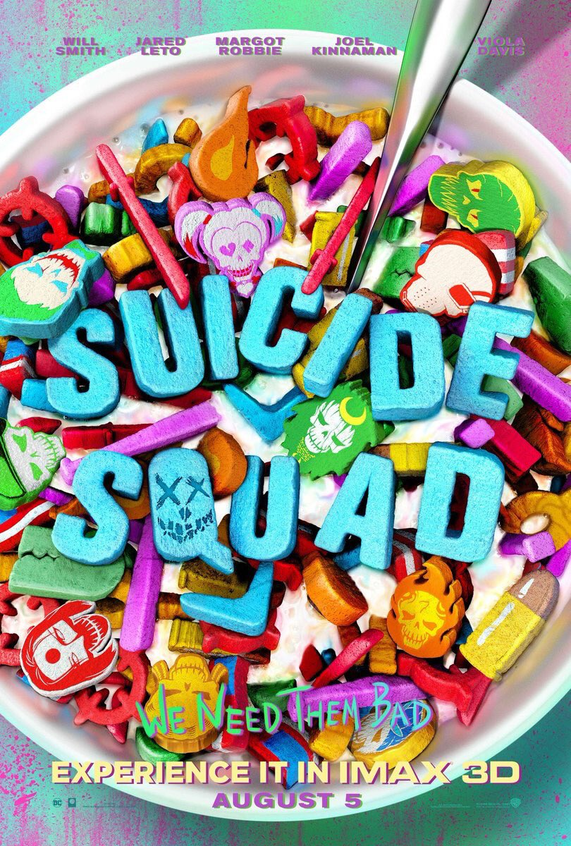 New IMAX Poster for 'Suicide Squad'