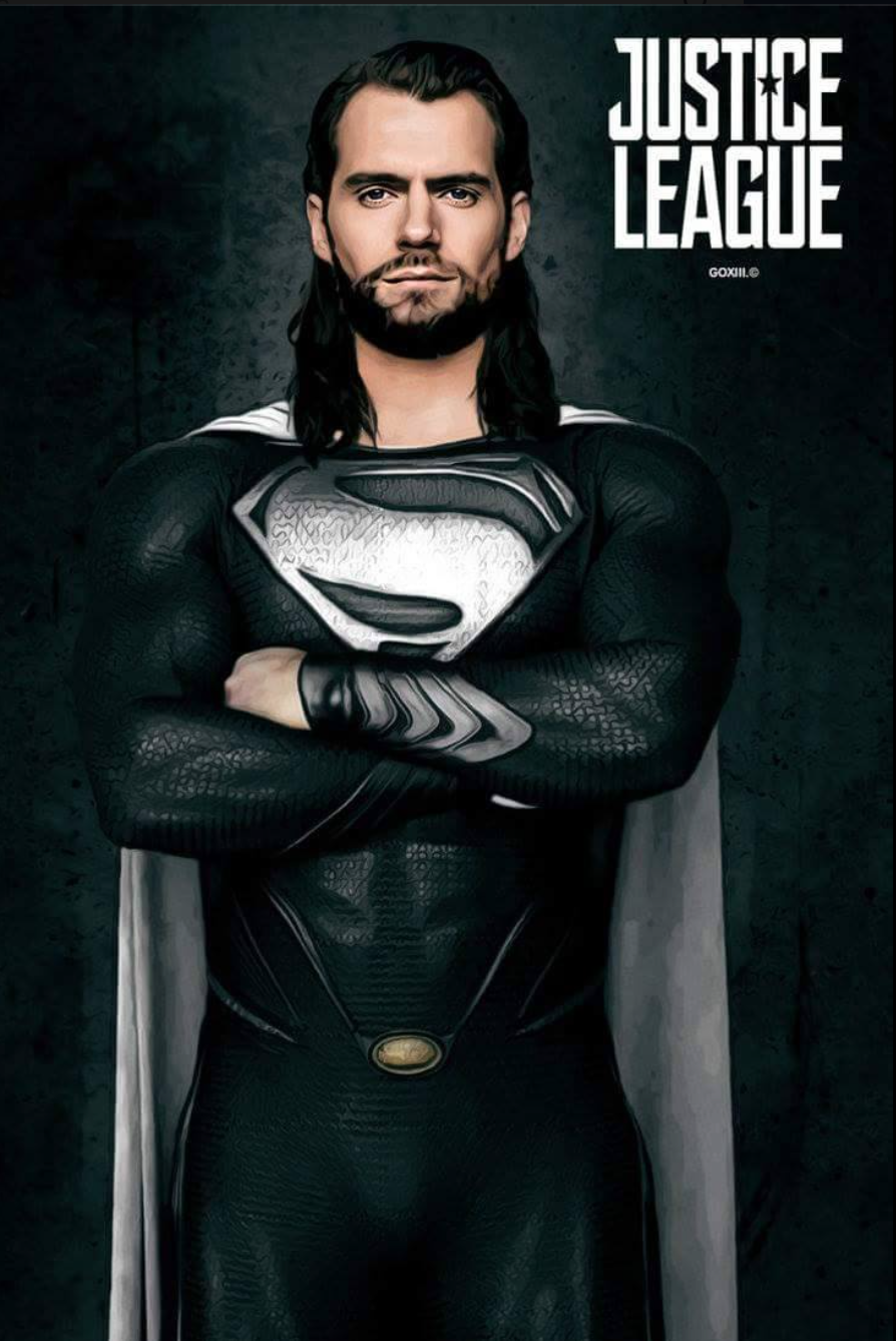 Is this the Superman we'll see in 'Justice League' movie?