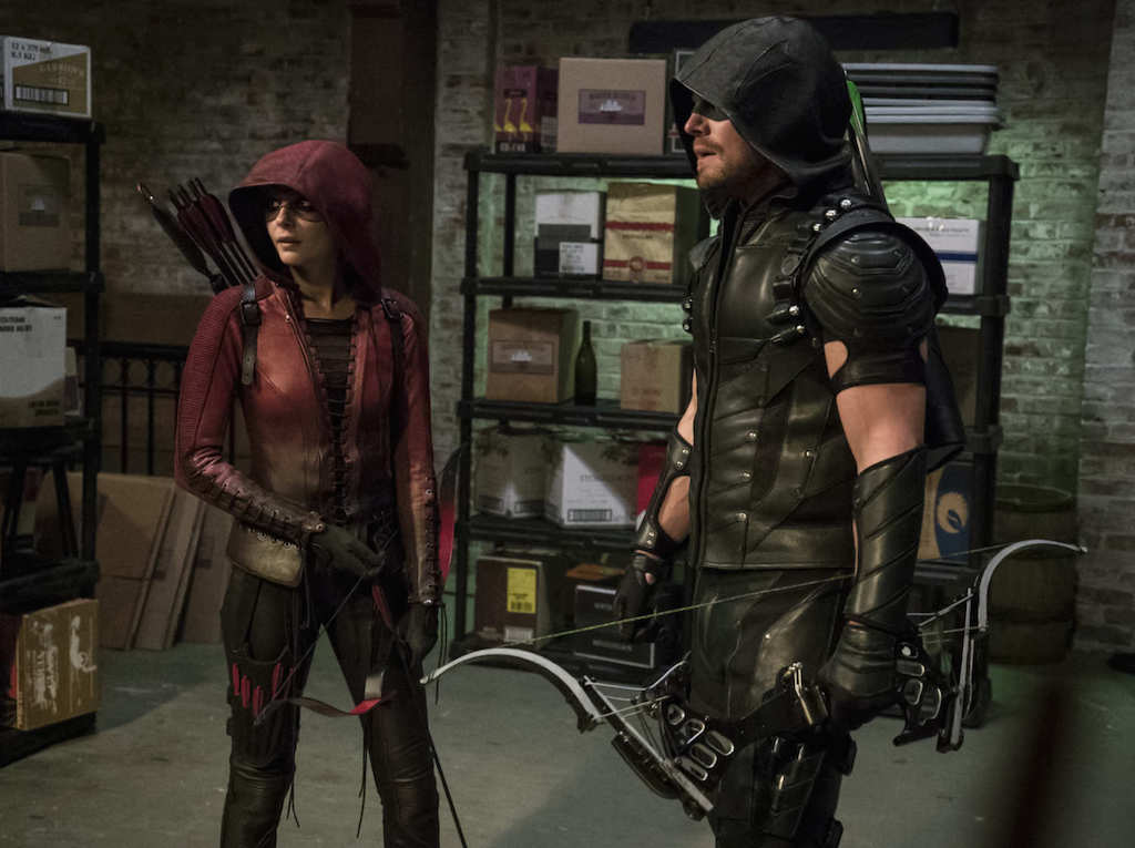 Vigilante Speedy and Green Arrow in Season 4