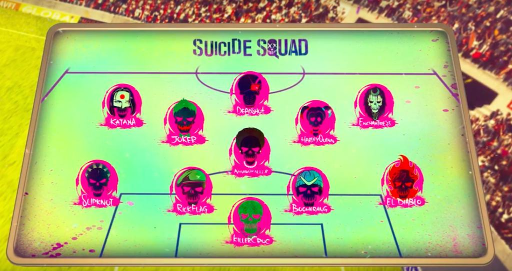 Suicide Squad Euro 2016