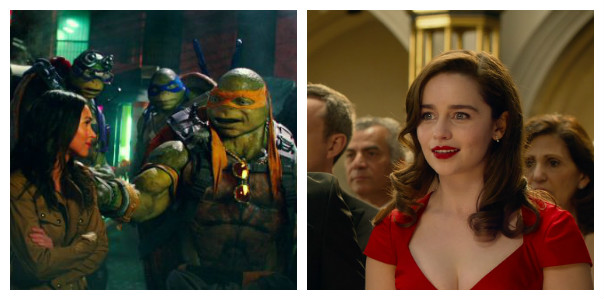 Box Office: 'Turtles' Win by Default, 'Me Before You' Surprises