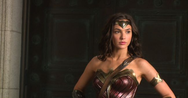 See a Cloaked Wonder Woman in New Images