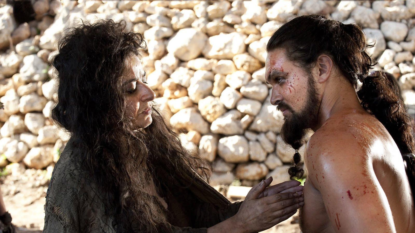 Mirri Maz Duur and Khal Drogo