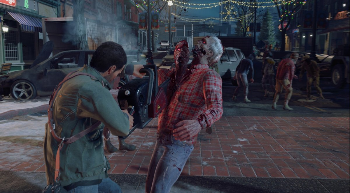 dead rising 4 chainsaw kill