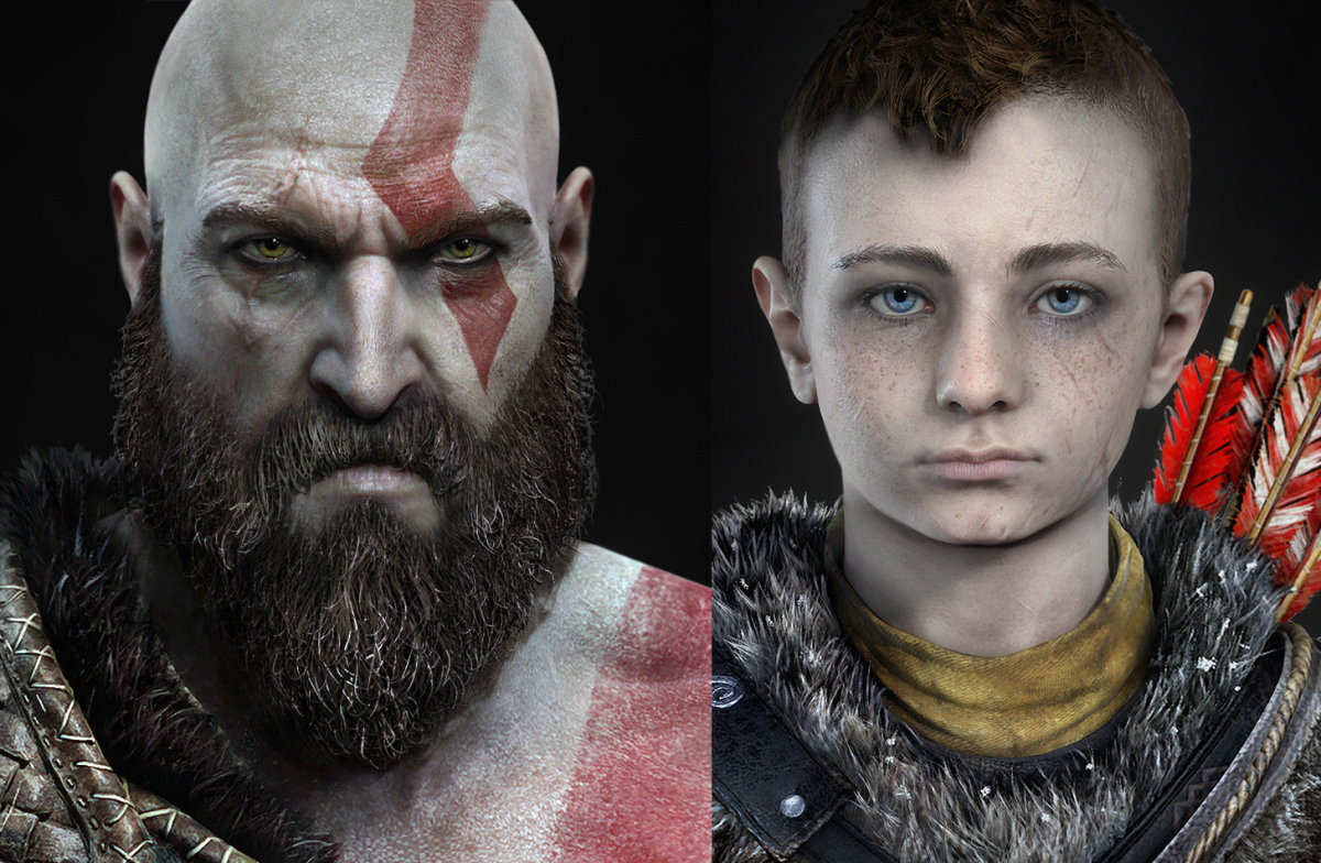 kratos & son new god of war