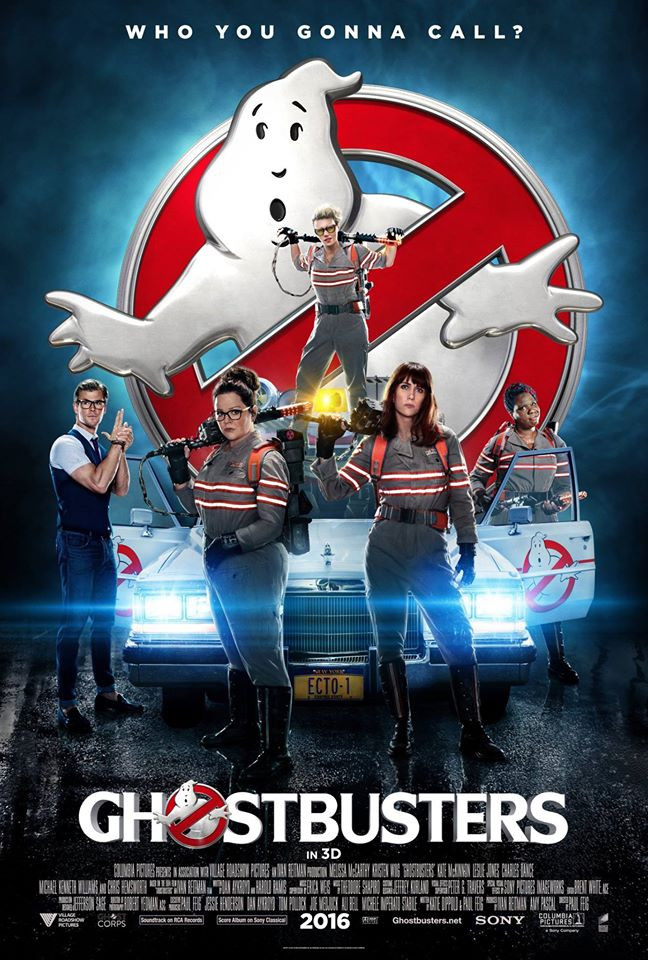 International Poster for Ghostbusters