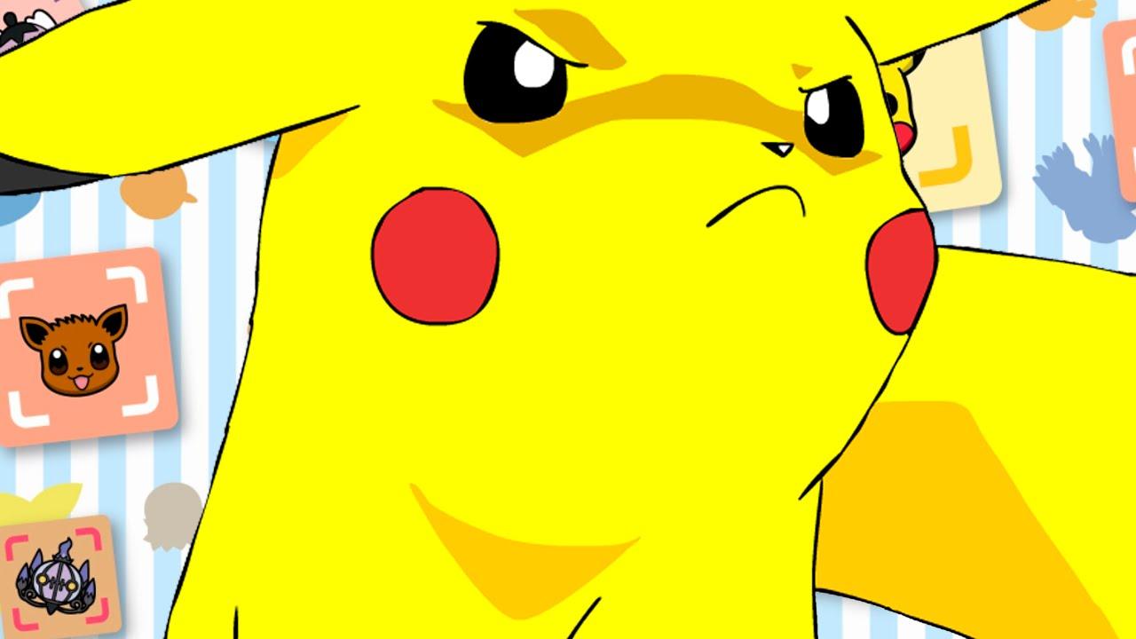 Nintendo's angry pikachu