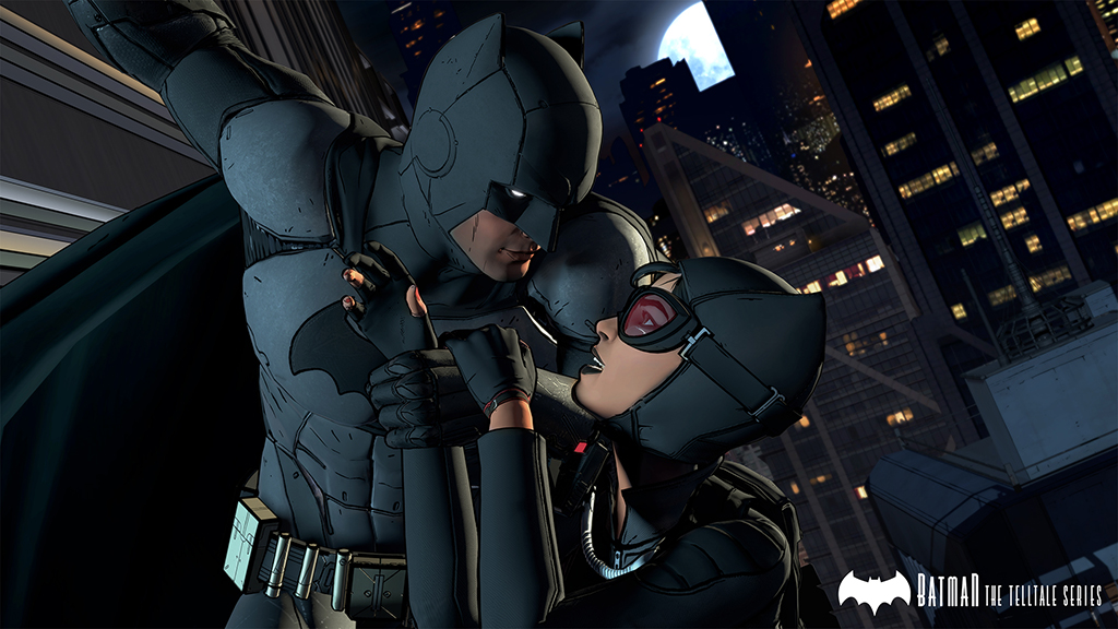 Batman Telltale Series batman and catwoman