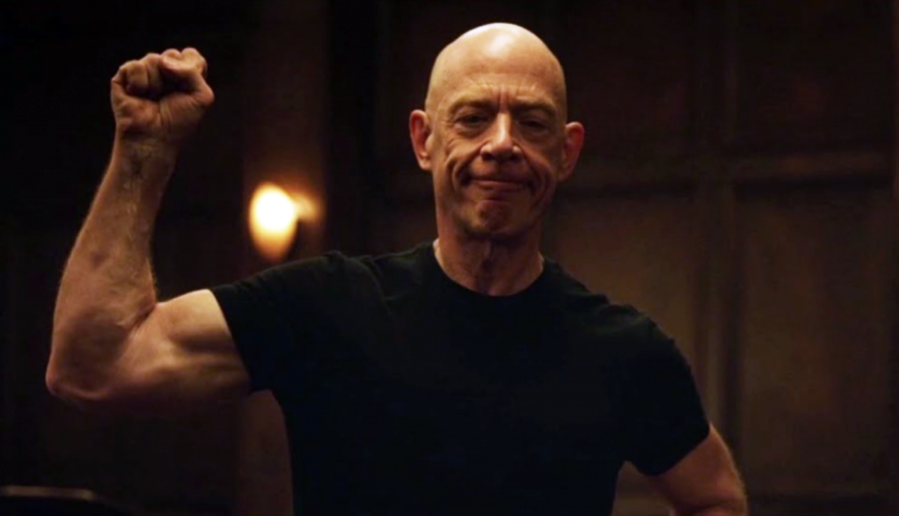 J.K. Simmons is Getting JACKED for 'Justice League'