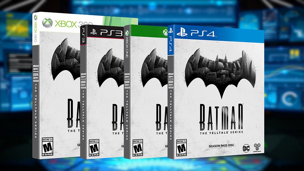 batman, telltale, ps4 game, retail release, box art
