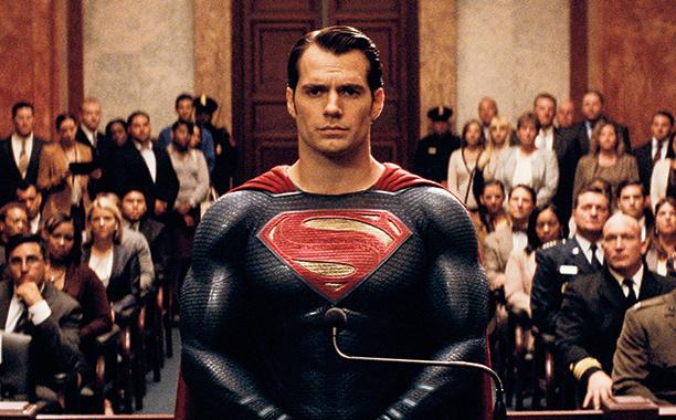 Superman on trial in Batman v Superman