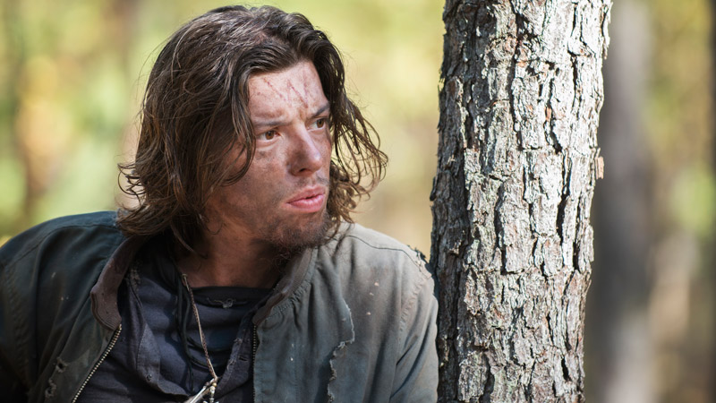 Benedict Samuel as The Walking Dead's Alpha Wolf